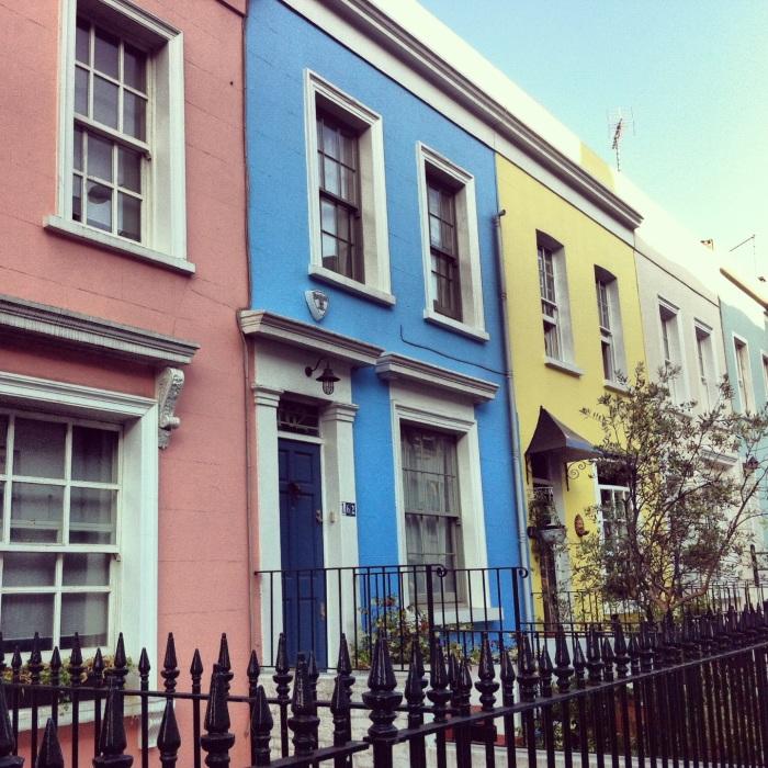 London from lower down: Kensington