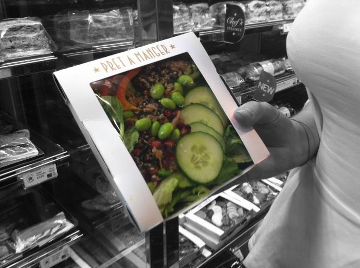 Hoisin Duck no Bread http://www.pret.co.uk/menu/sushi_salads_soups/hoisin_duck_no_bread_PUK5002.shtm