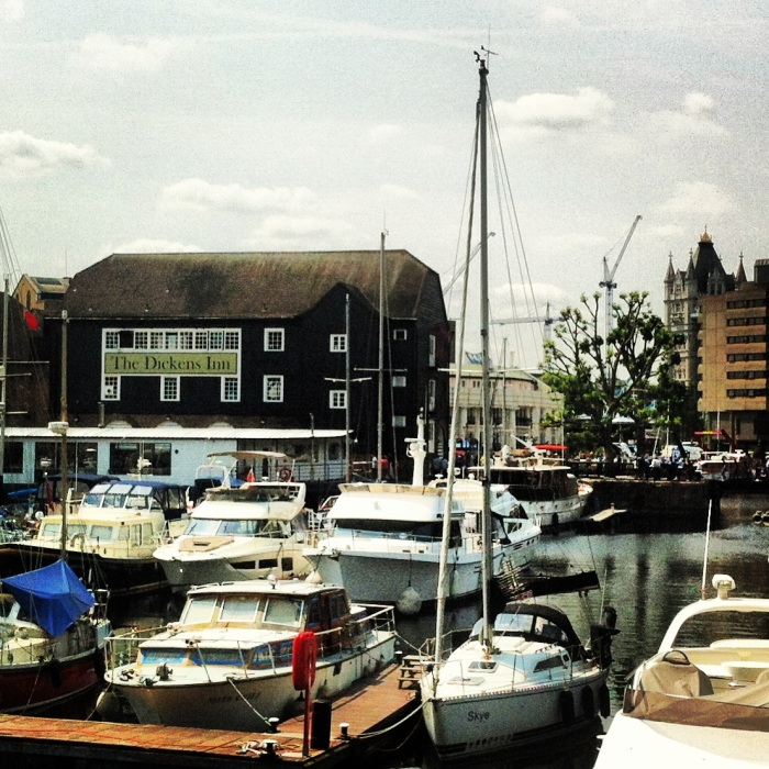 St Catherine's docks