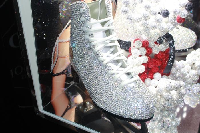 sparkly ice skates